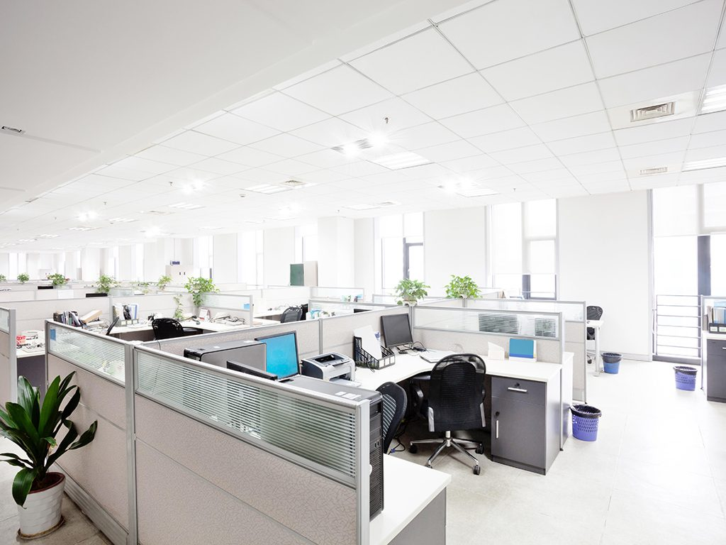 uv disinfecting light workplace office