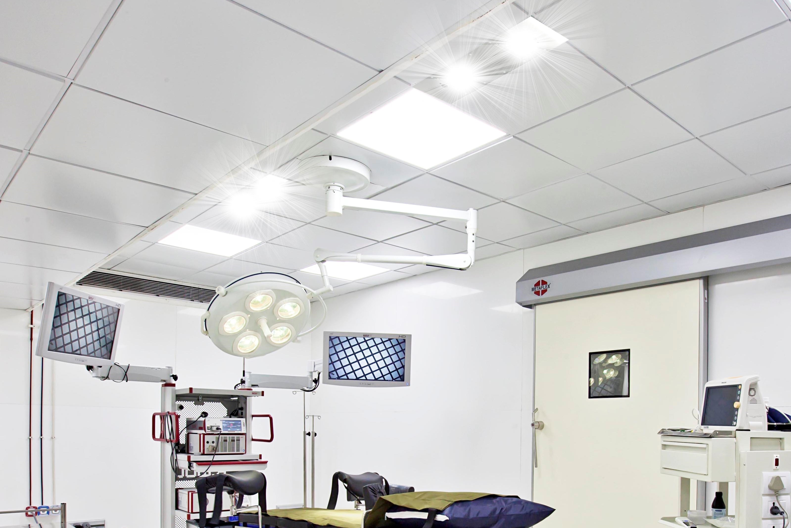 uv disinfection light hospital surgery