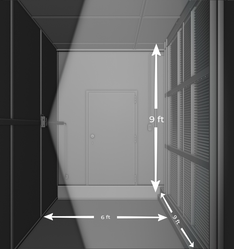 UV light disinfection dimensions