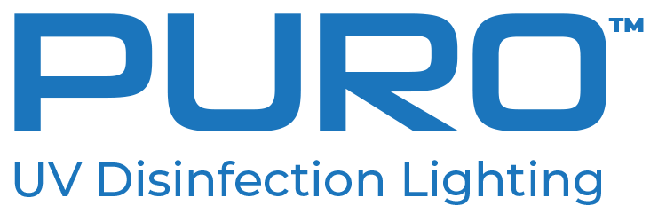 Puro uv disinfecting light